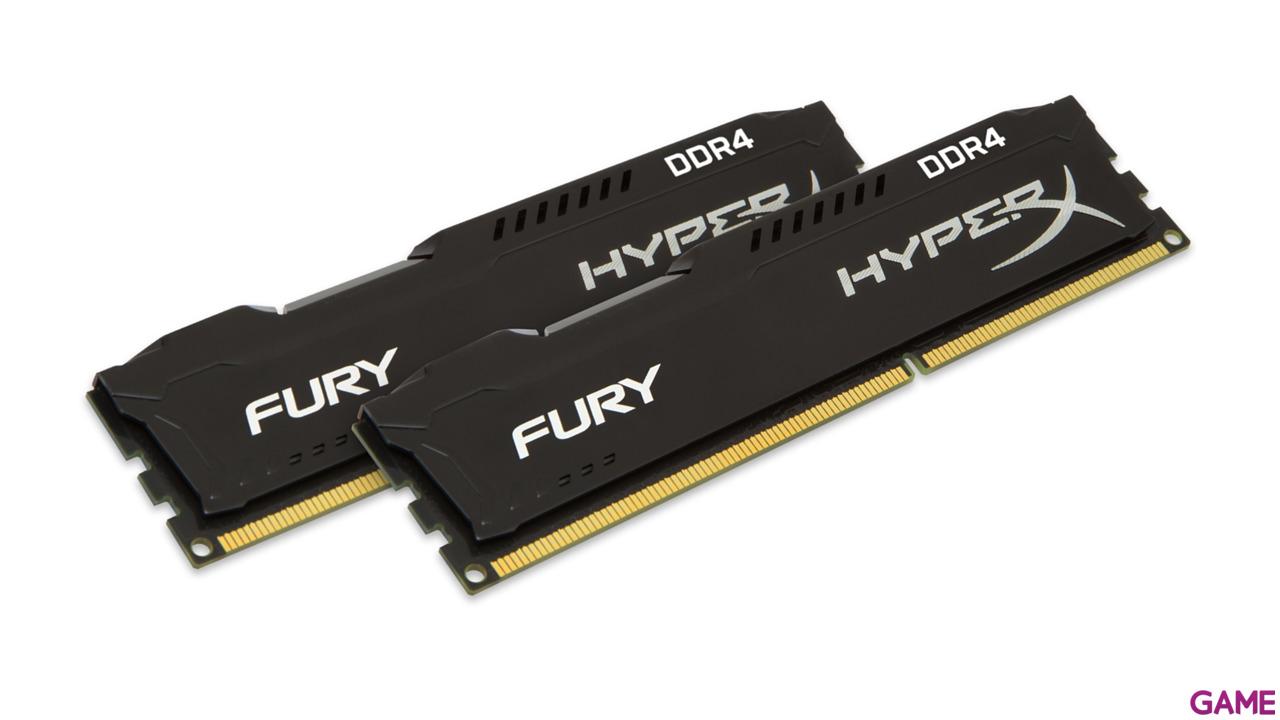 Kingston HyperX Fury Negro DDR4 8GB (2x4GB) 2666Mhz CL15