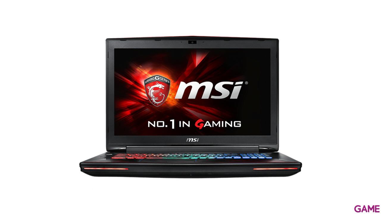 MSI GT72S 6QF-037ES - i7-6820HK - GTX 980 - 32GB - 1TB HDD + 512GB SSD - 17.3'' - W10 - Dominator Pro G Dragon
