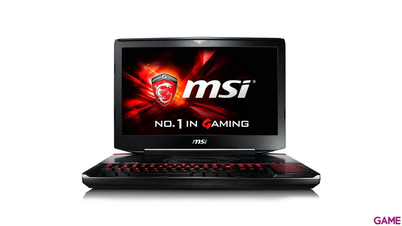 MSI GT80S 6QE-085XES - i7-6700 - 2 x GTX 980M - Titan SLI