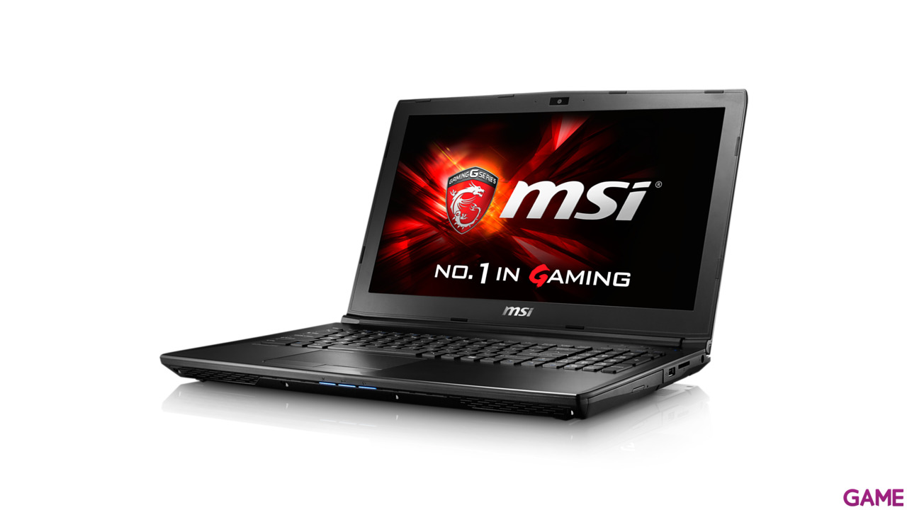 MSI GL62 6QF-849XES - i7-6700 - GTX 960M - 8GB - 1TB HDD - 15.6'' - FreeDOS