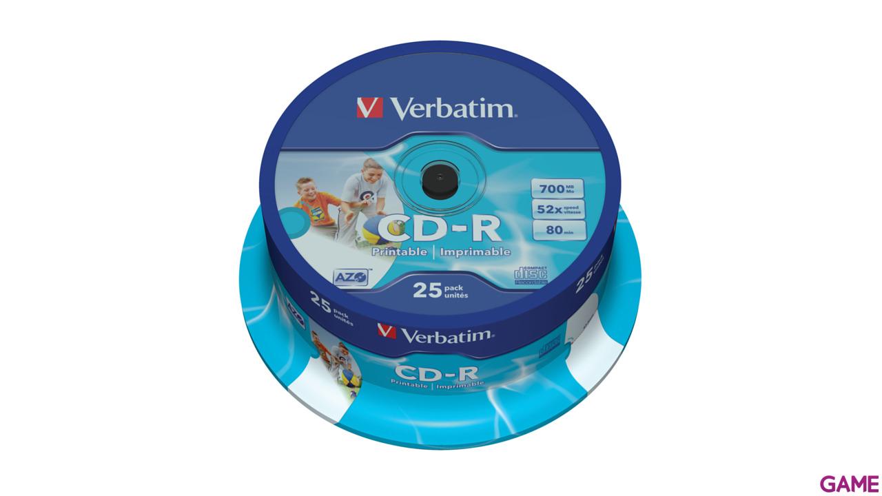 Verbatim CD-R 52X 25 Unds