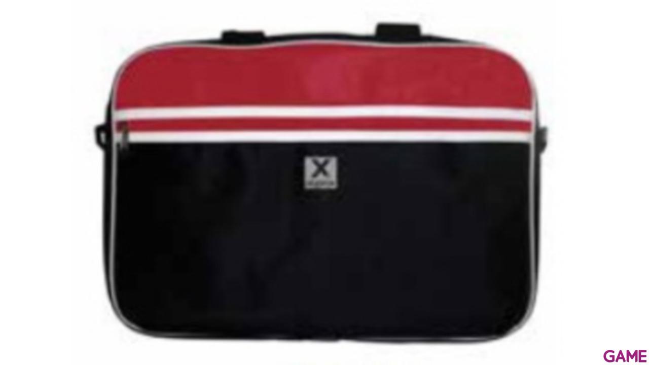 Approx Maletin portatil 15.6 Rojo-Negro