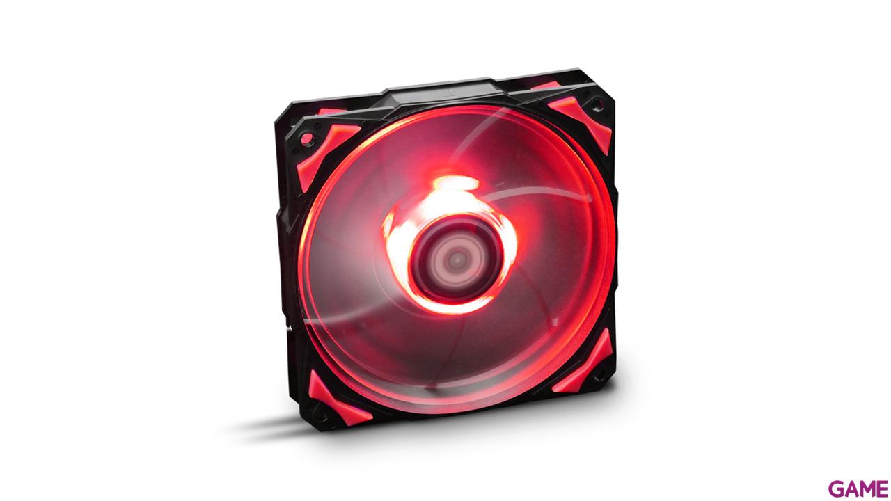 Nox H Fan Led Rojo