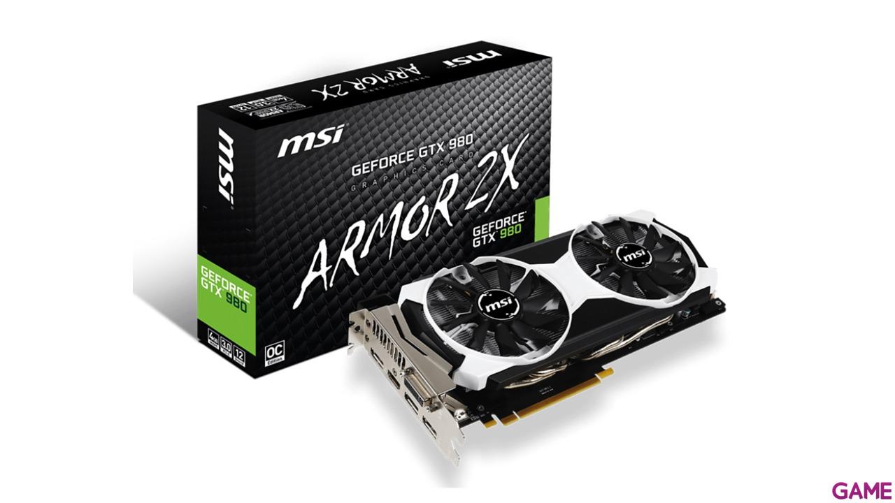 MSI GeForce GTX 980 Armor 4GB