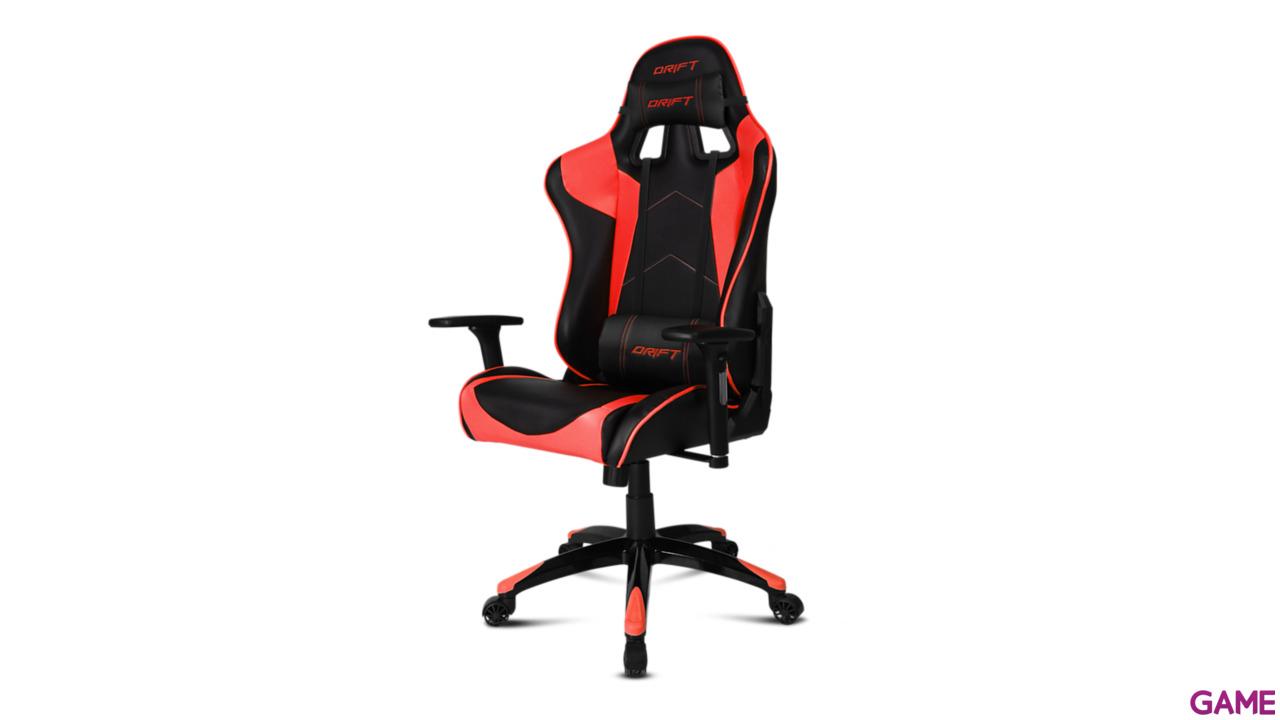 DRIFT DR300 Negro-Rojo - Silla Gaming