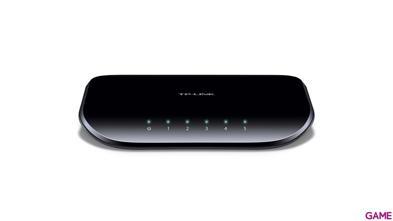 SWITCH 5-PORT GIGABIT