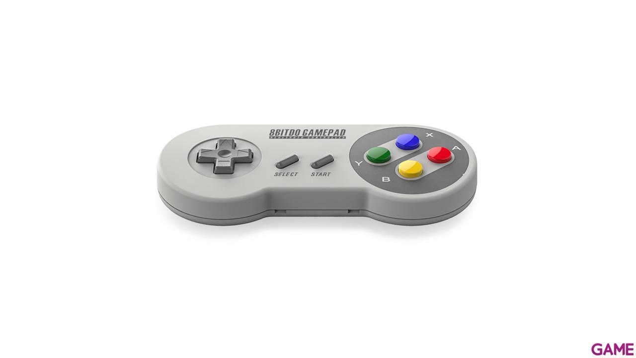 8Bitdo Mando Bluetooth Super Nintendo Colores SFC30