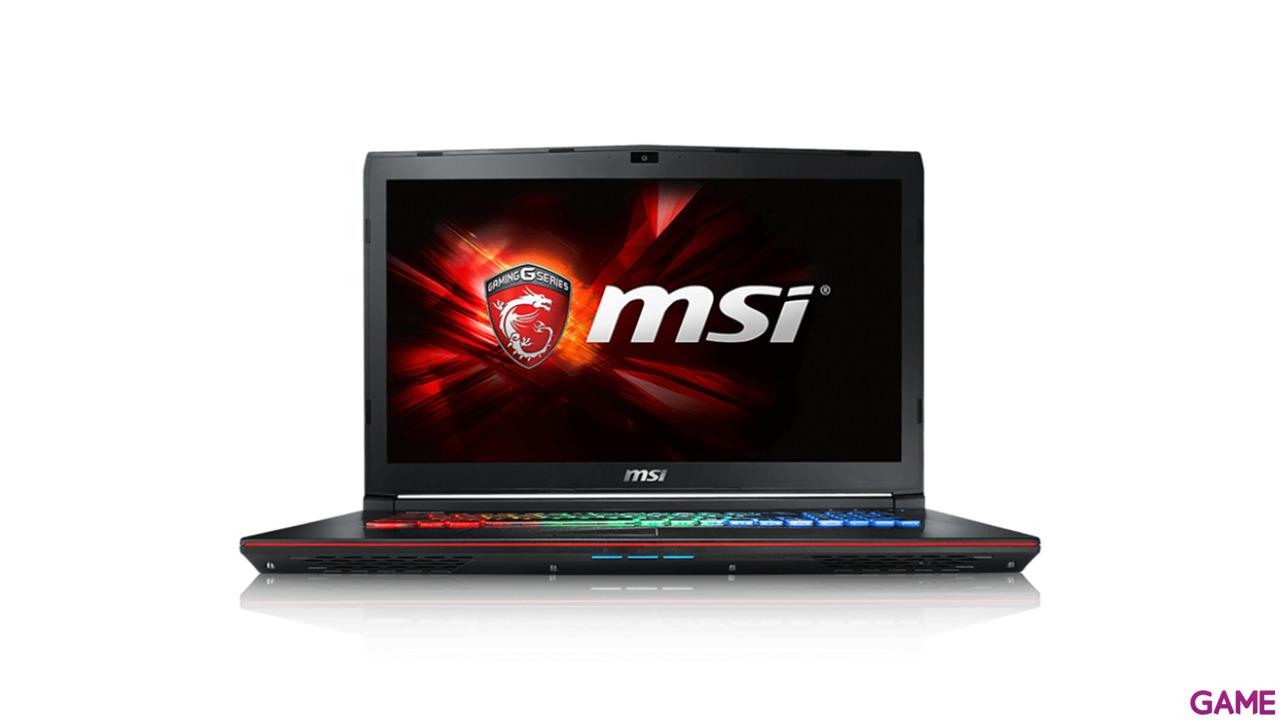 MSI GE72 6QD-616XES - i7-6700 - GTX 960M - 16GB - 1TB HDD - 17.3'' - FreeDOS - Apache Pro