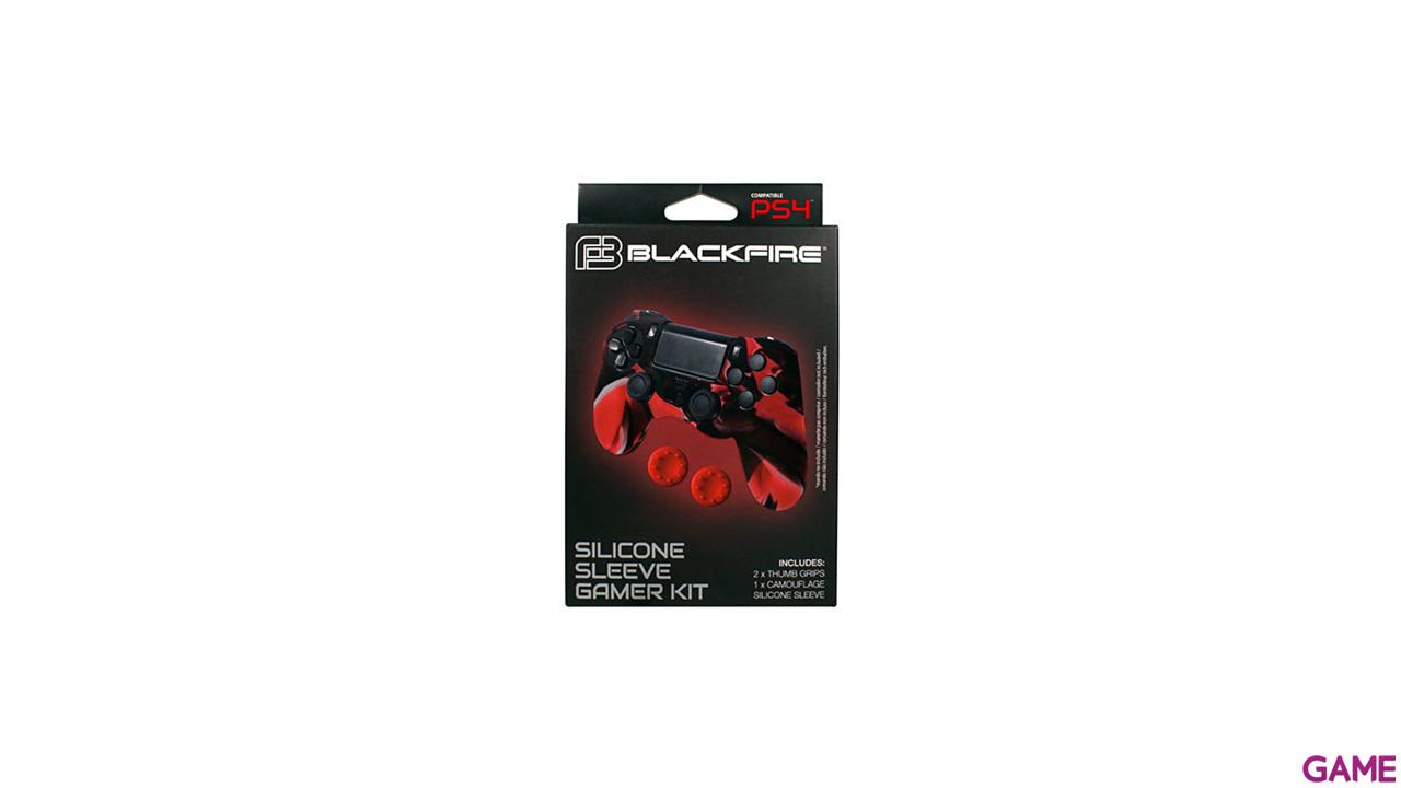 Funda Silicona + 2 Grips para Controller Blackfire