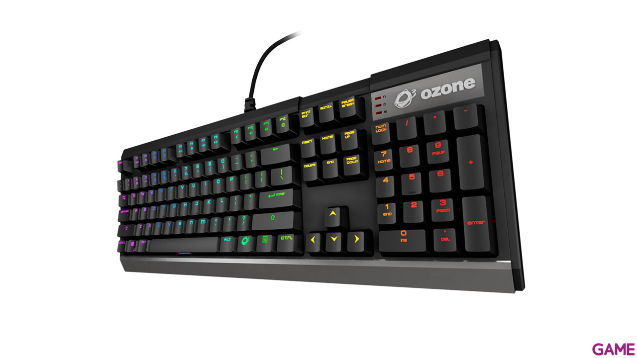 OZONE Strike X30 Mecánico Switch Red RGB