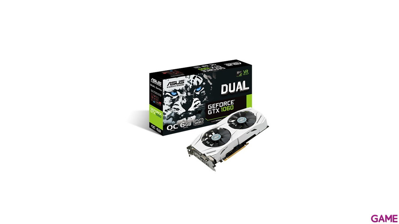 Asus Dual GeForce GTX 1060 OC 6GB