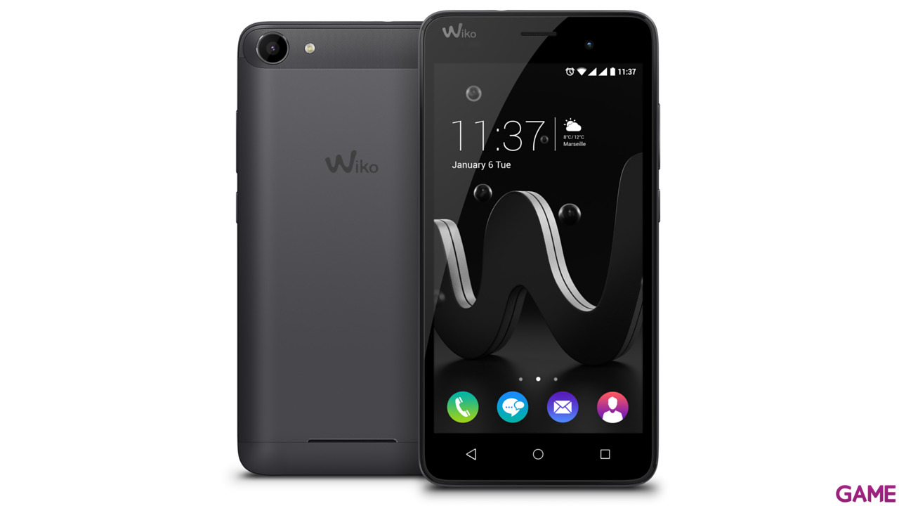"Smartphone Wiko Jerry 5"" IPS Quad Core 1Gb+8Gb Negro"