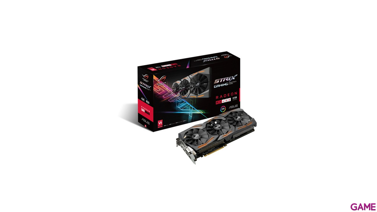 Asus Strix RX480 OC 8GB