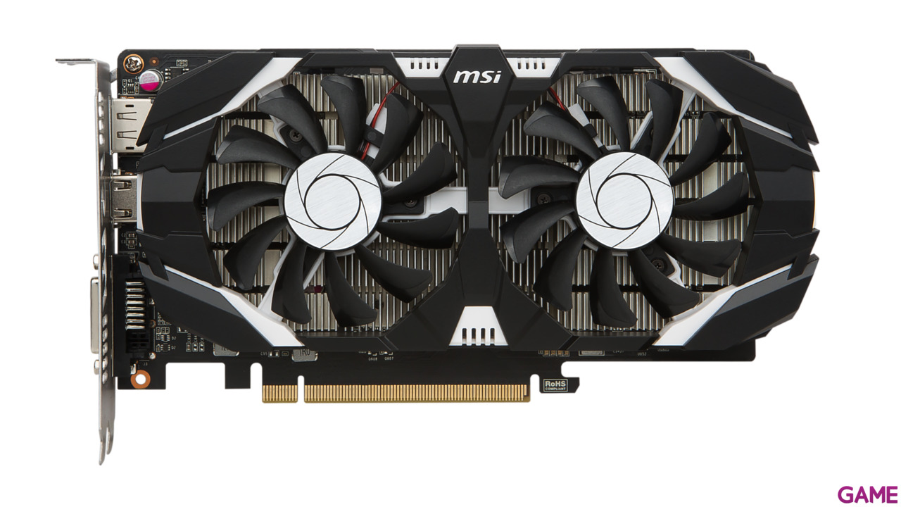 MSI GeForce GTX 1050 2GT OC