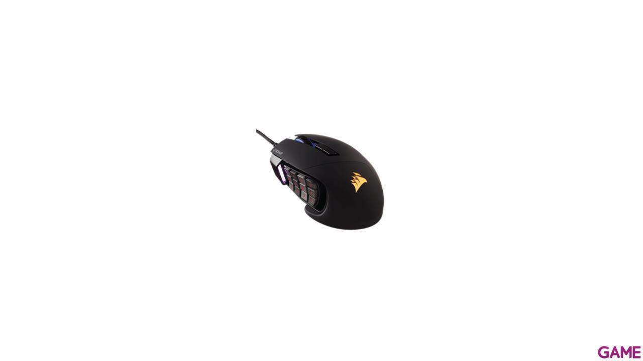 CORSAIR Scimitar Pro RGB Negro 16000 DPI - Ratón Gaming