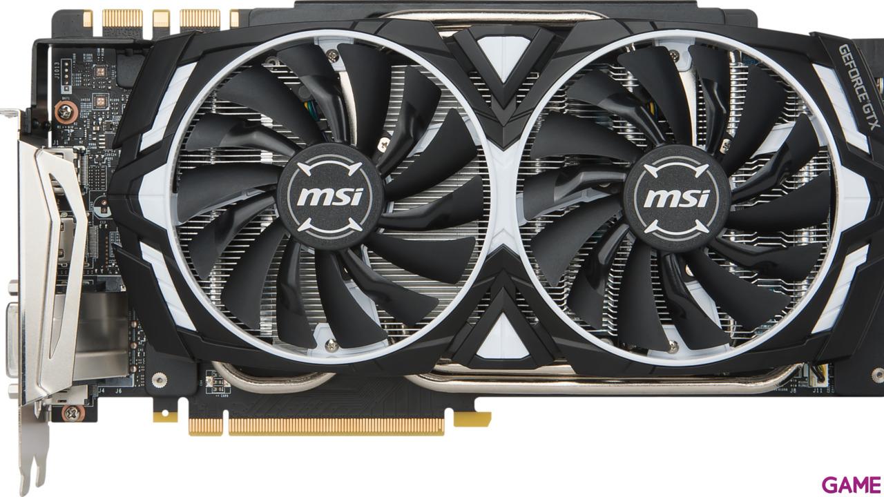 MSI GeForce GTX 1080 Ti Armor OC 11GB GDDR5X