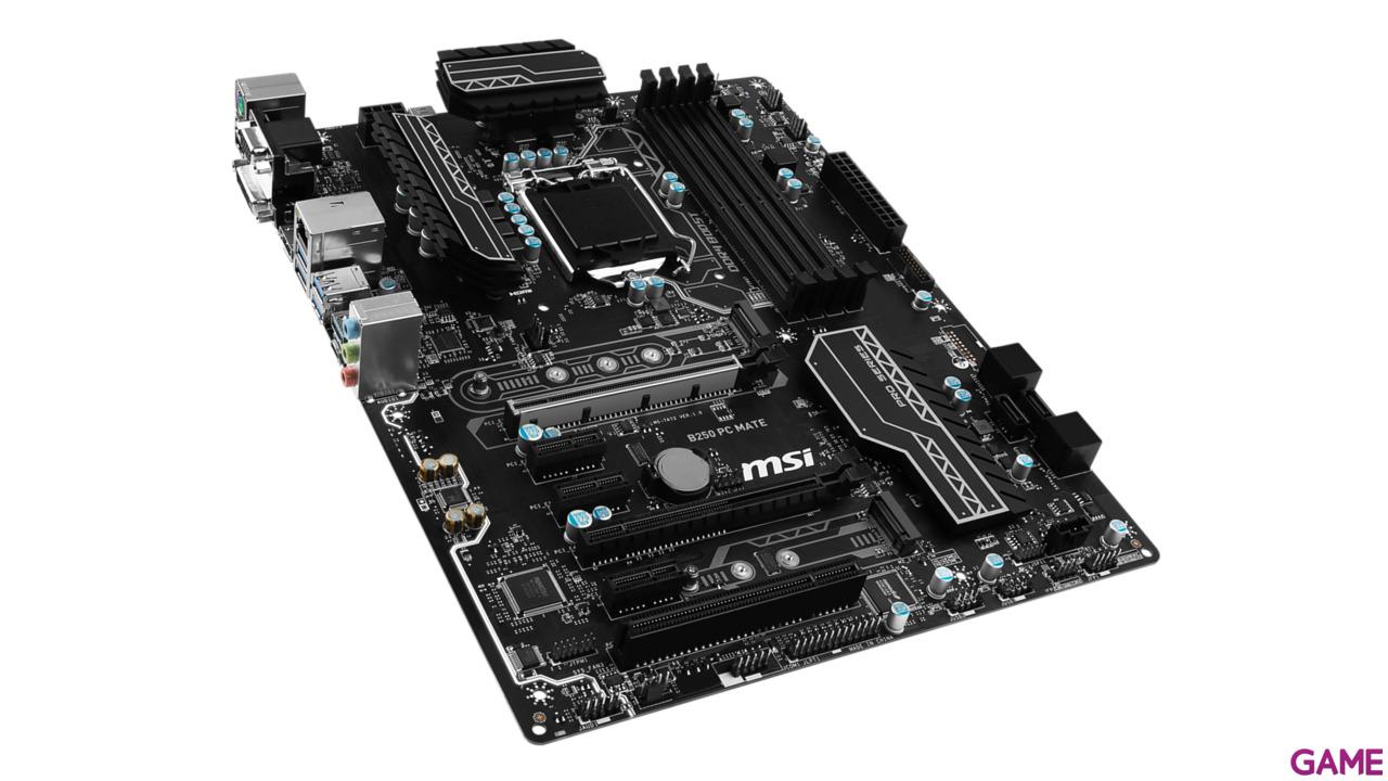 MSI B250 PC Mate LGA1151 ATX