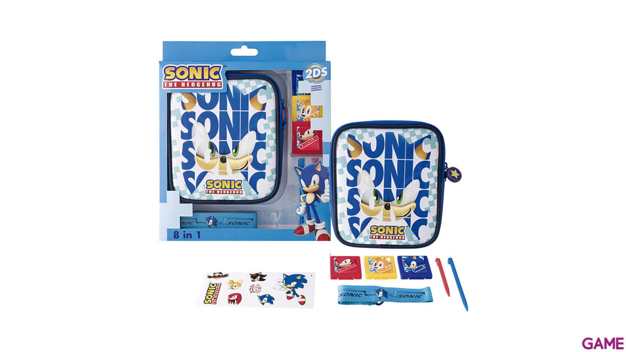 Kit 8 Accesorios 2DS Sonic