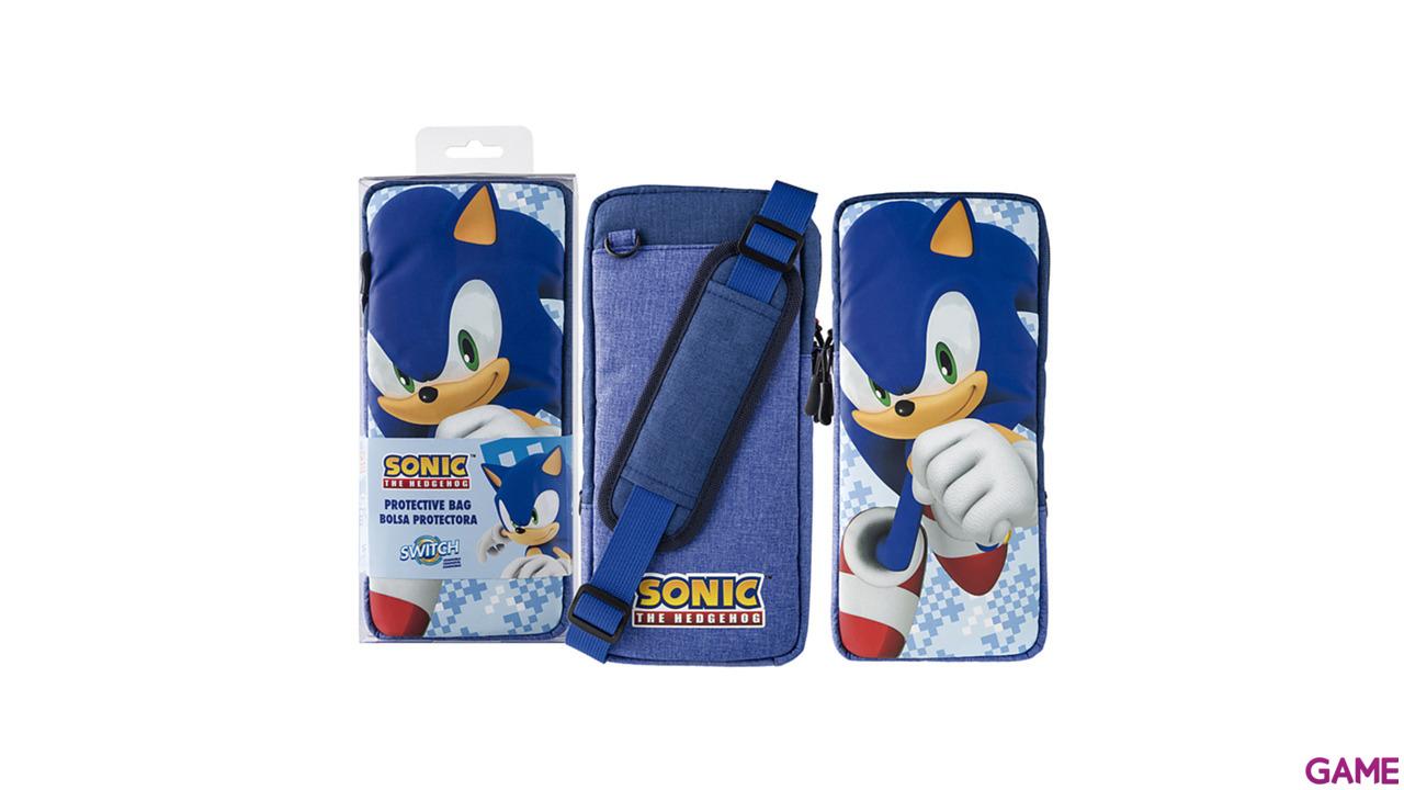 Bolsa de Transporte para Nintendo Switch Sonic