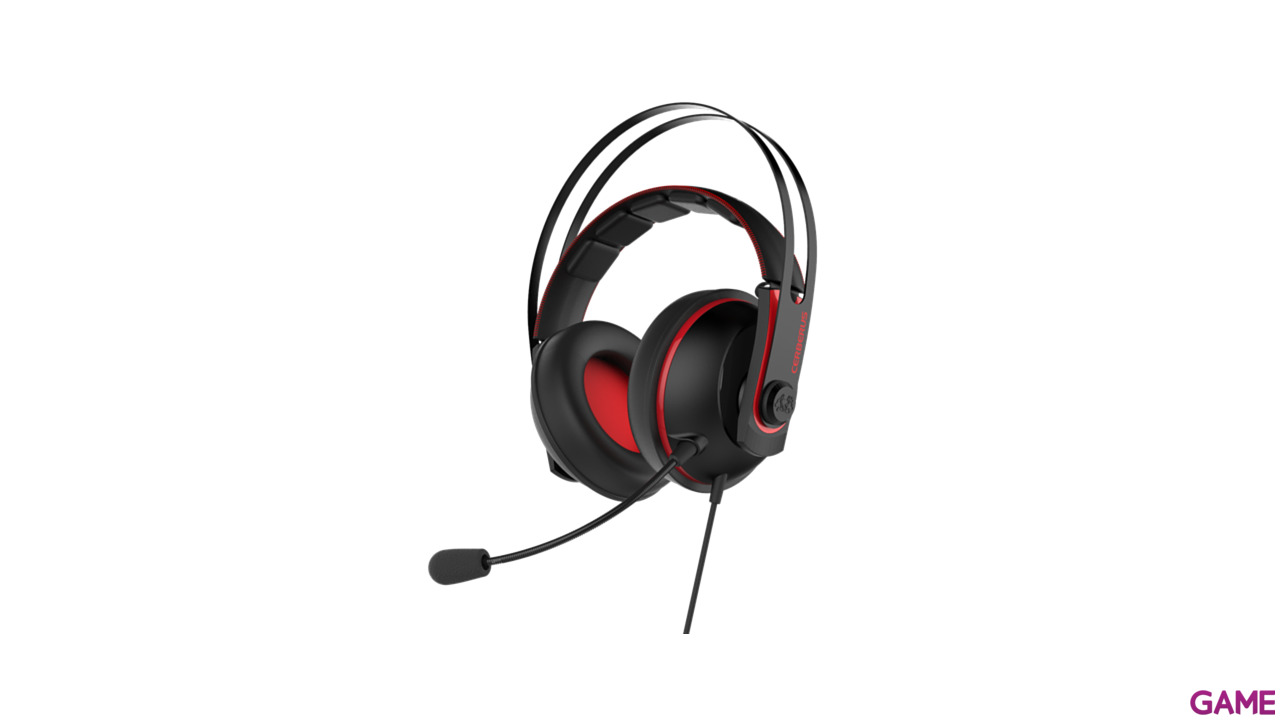 ASUS CERBERUS V2 PC-PS4-XONE-SWITCH-MOVIL - Auriculares Gaming