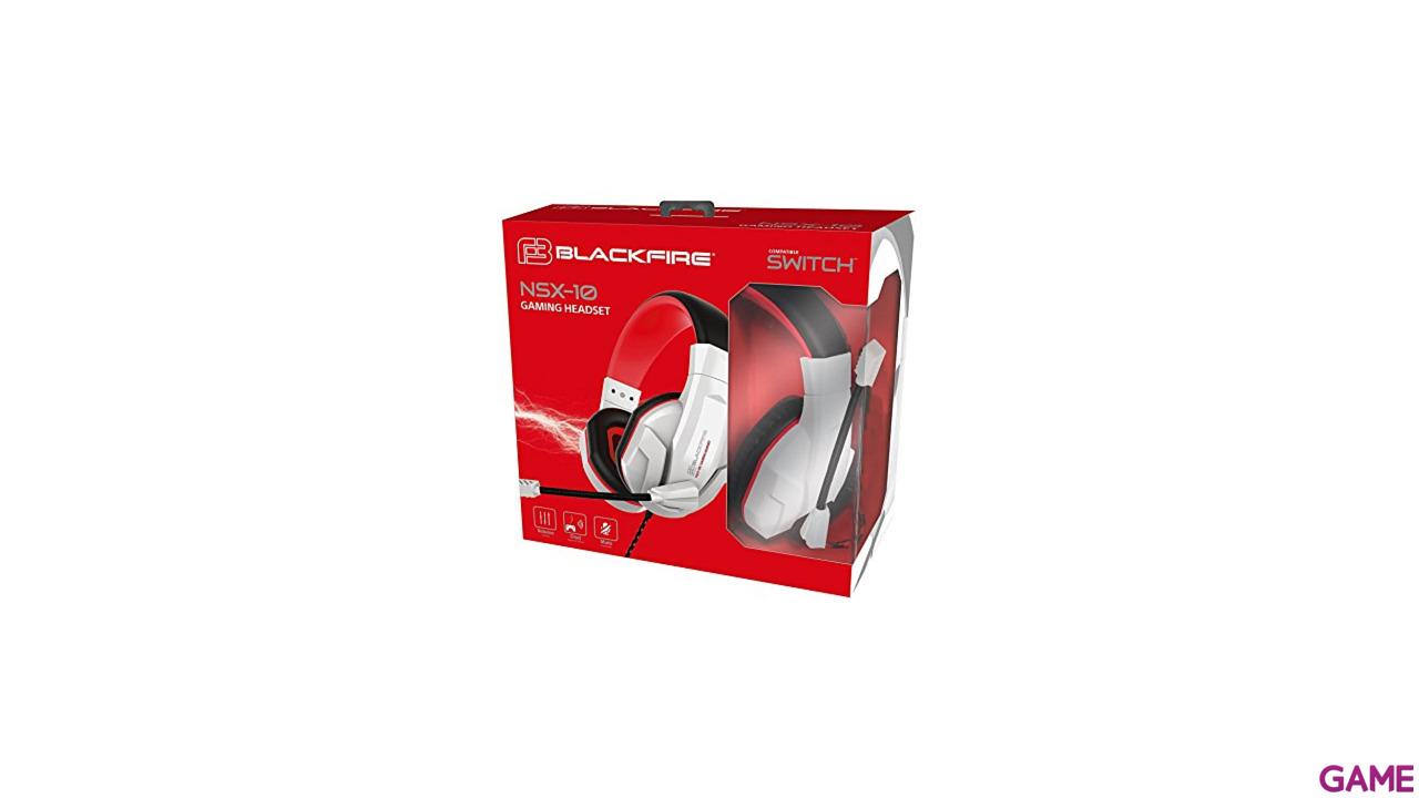 Auriculares Ardistel Blackfire NSX-10 para Nintendo Switch