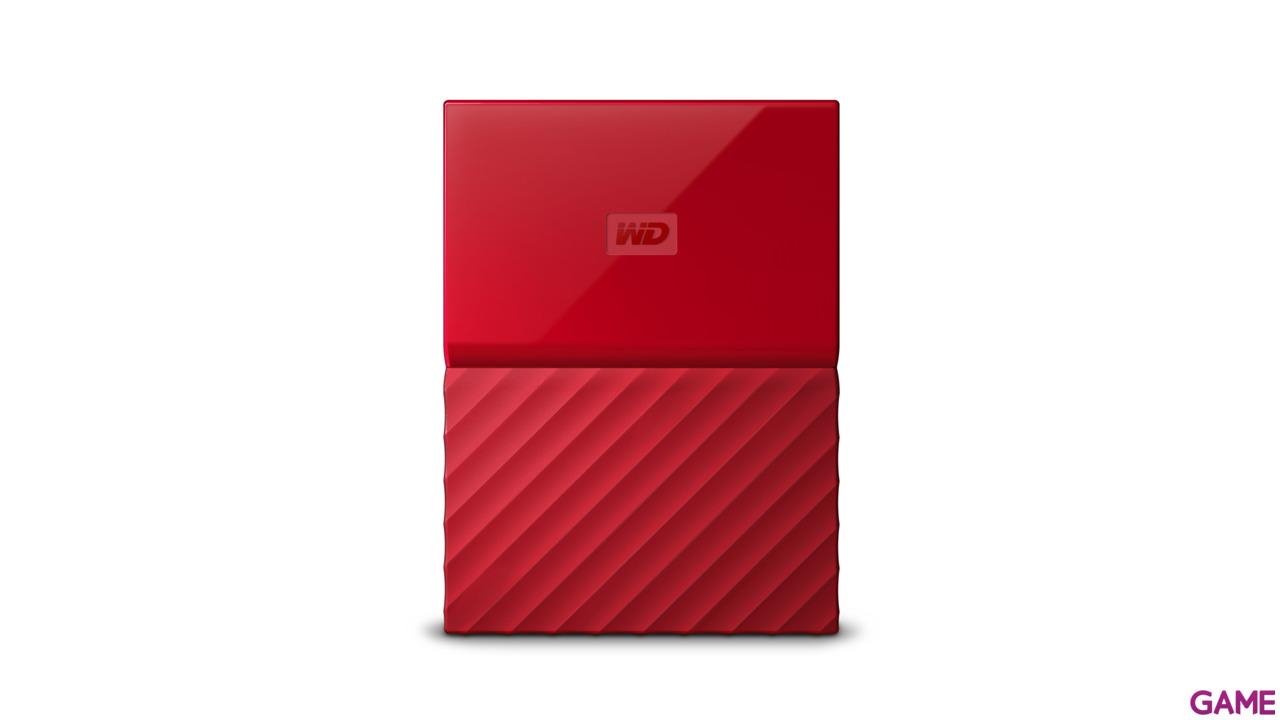 Western Digital My Passport 1TB Rojo USB 3.0