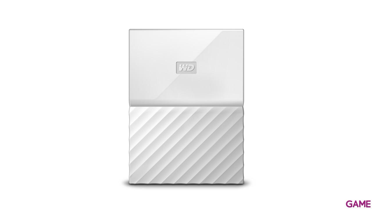 Western Digital My Passport 1TB Blanco USB 3.0