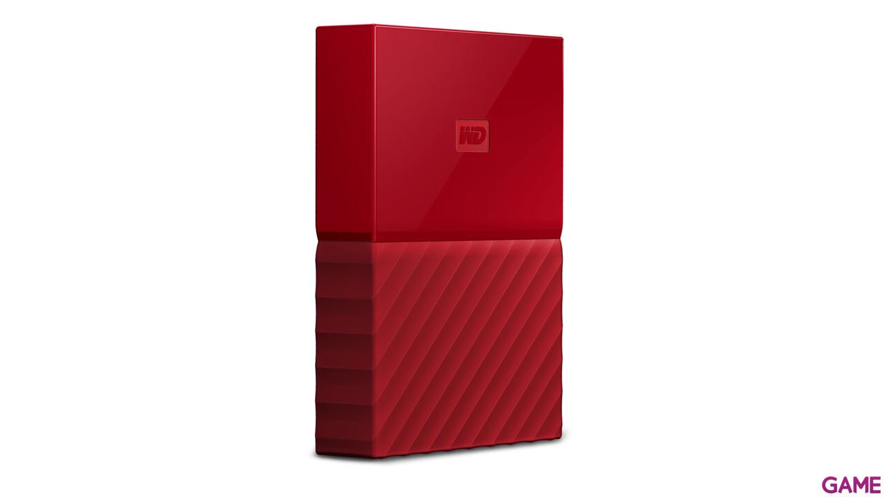 Western Digital My Passport 4TB Rojo USB 3.0