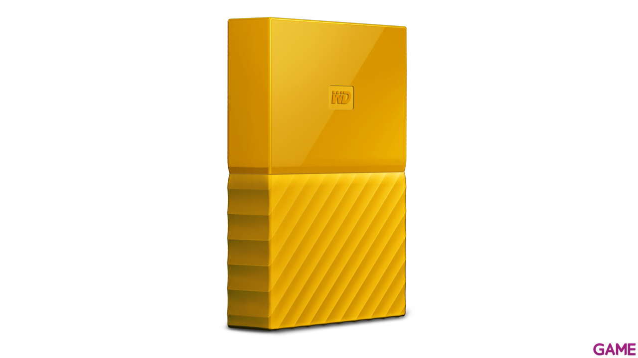 Western Digital My Passport 4TB Amarillo USB 3.0