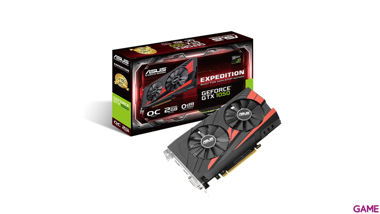 Asus GeForce GTX 1050 Expedition 2GB