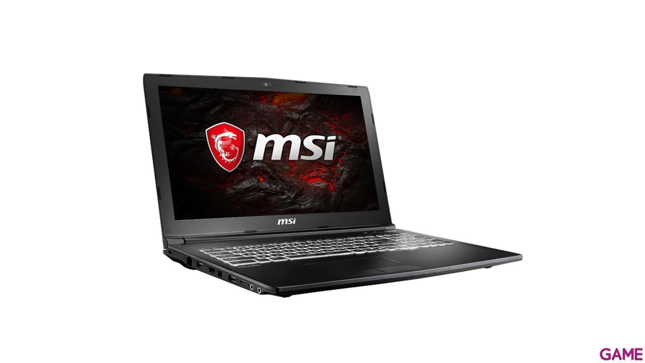 MSI GL62M 7RDX-1656XES - i5-7300 - GTX 1050 - 8GB - 1TB HDD - 15.6'' - FreeDOS