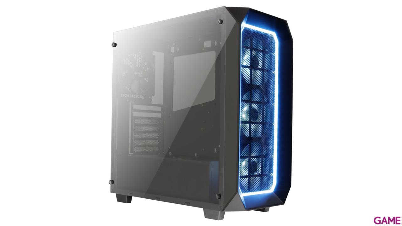 Aerocool P7C0 Pro Negra RGB - Cristal Templado - ATX Mid Tower
