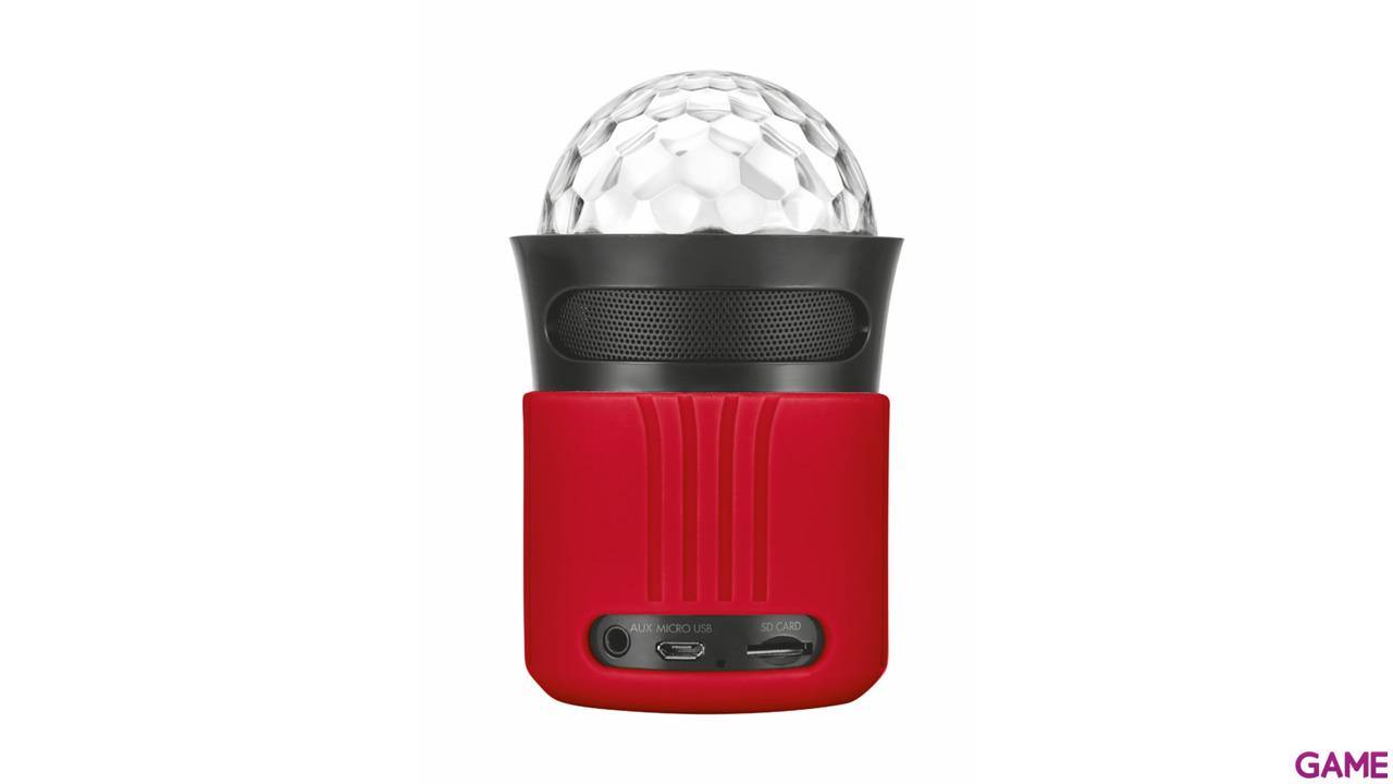 Altavoces Bluetooth con Luces Trust Dixxo Rojo