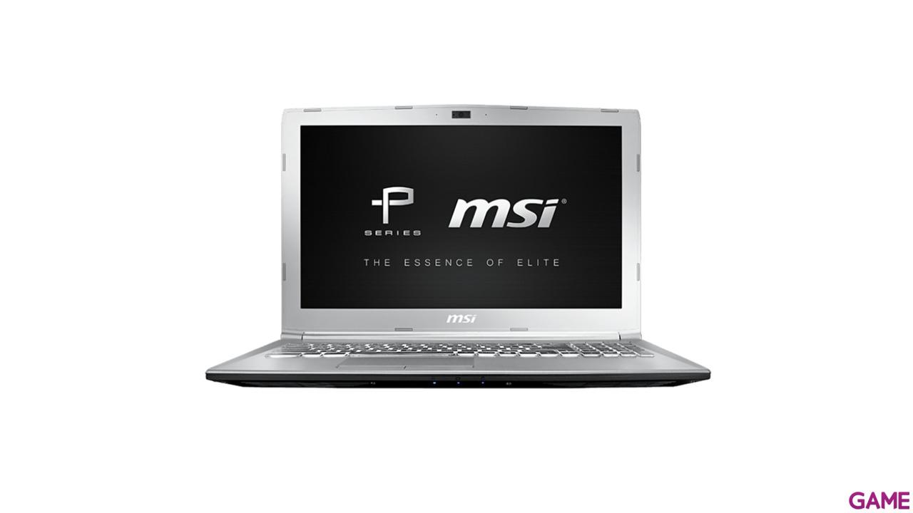 MSI PE62 7RD-1814XES - i7-7700 - GTX 1050 - 16GB - 1TB HDD + 256GB SSD - 15.6'' - FreeDOS