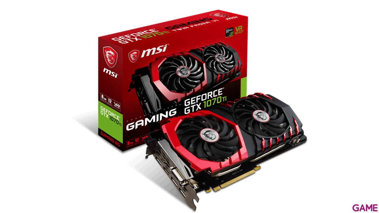 MSI GeForce GTX 1070 Ti GAMING 8 GB