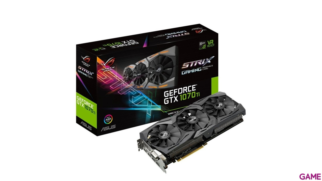 Asus GeForce GTX 1070 Ti 8G Gaming