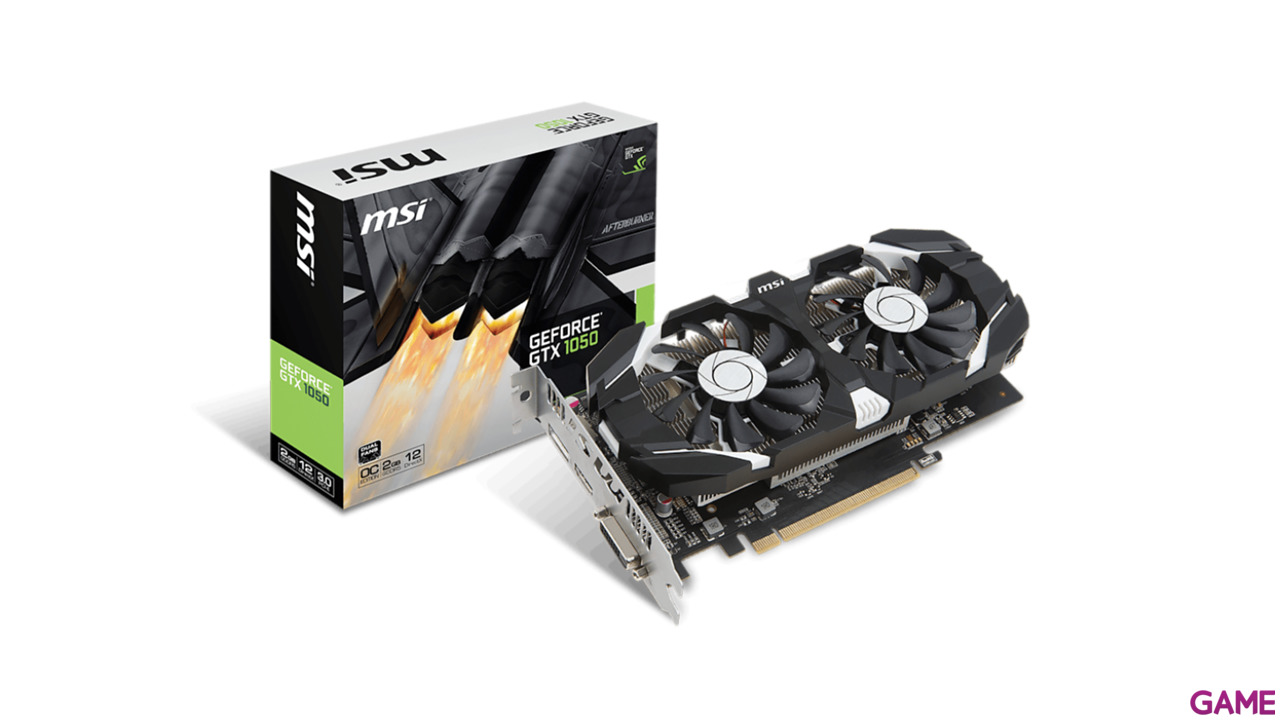 MSI GeForce GTX 1050 2GT OCV1 2GB GDDR5