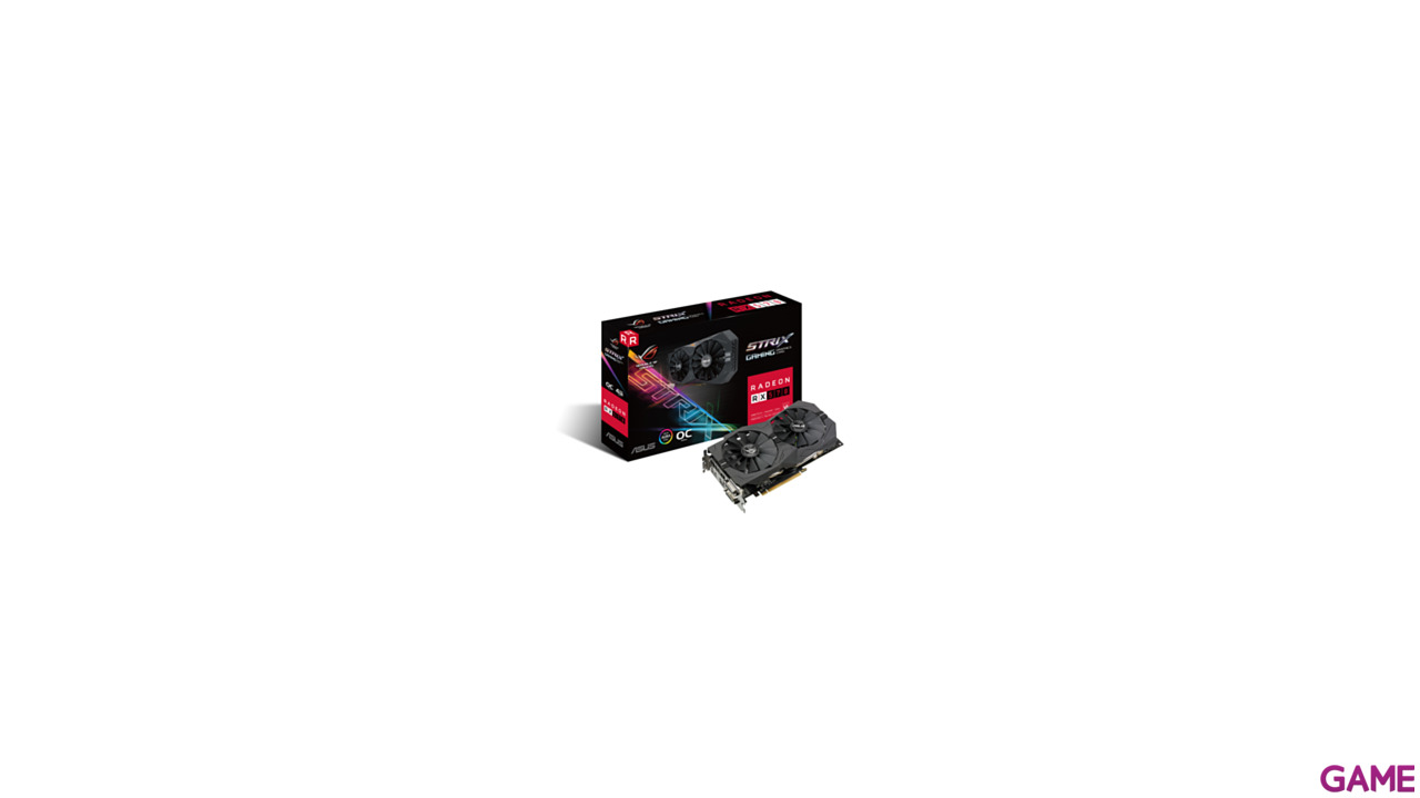 Asus Radeon RX 570 Strix OC Gaming 4GB