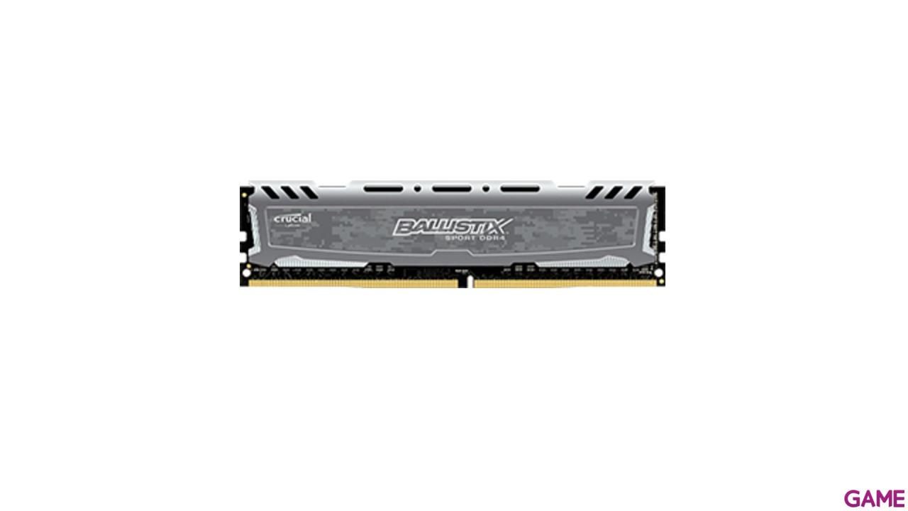 Crucial Ballistix Sport LT DDR4 16GB 2400Mhz - Gris