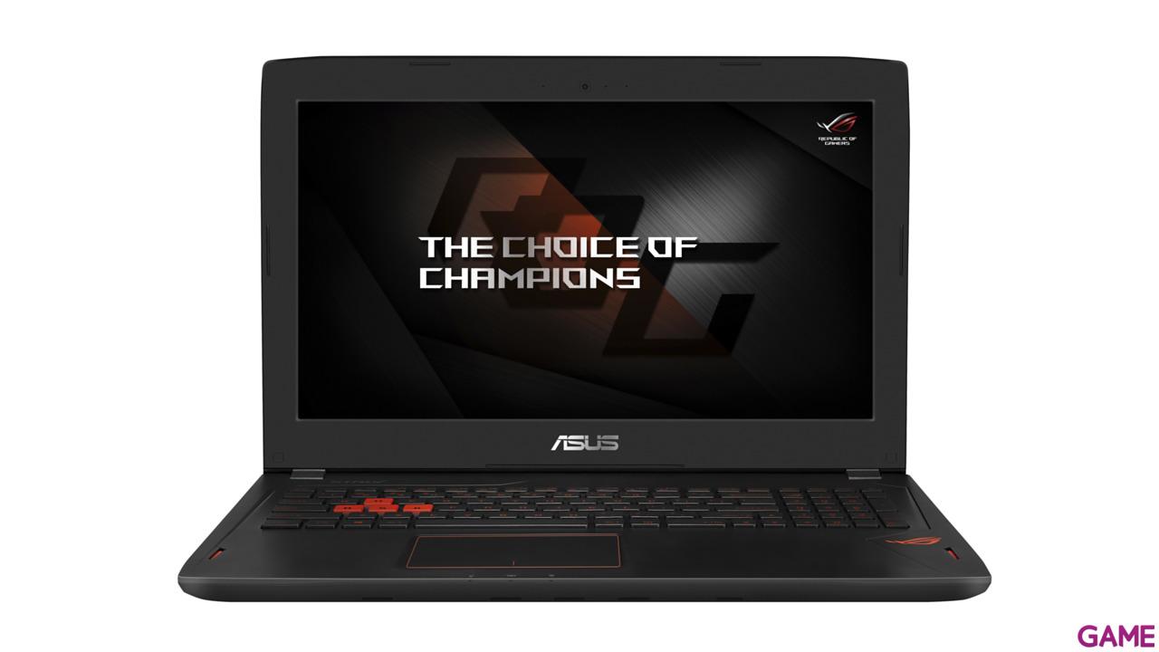 Asus GL502VM-FY165T - i7-7700 - GTX 1060 6GB - 16GB - 1TB HDD + 256 GB SSD - 15.6'' - W10