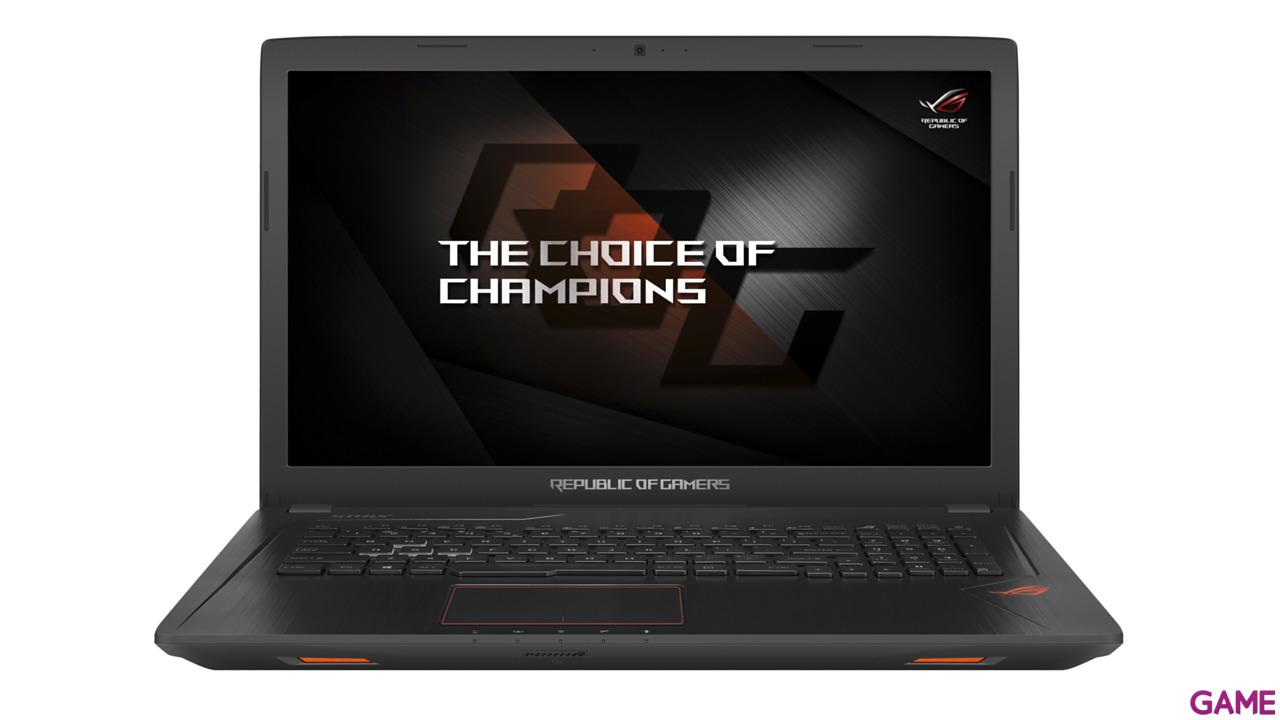 Asus GL753VD-GC045T - i7-7700 - GTX 1050 - 16GB - 1TB HDD + 256GB SSD - 17.3'' - W10