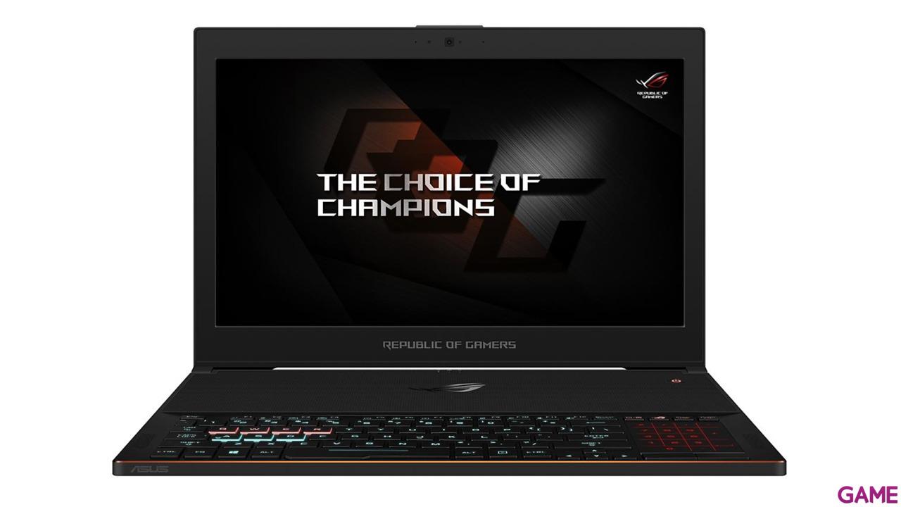 Asus ROG Zephyrus GX501VI-GZ033T - i7-7700 - GTX 1080 8GB - 24GB - 512GB SSD - 15.6'' - W10