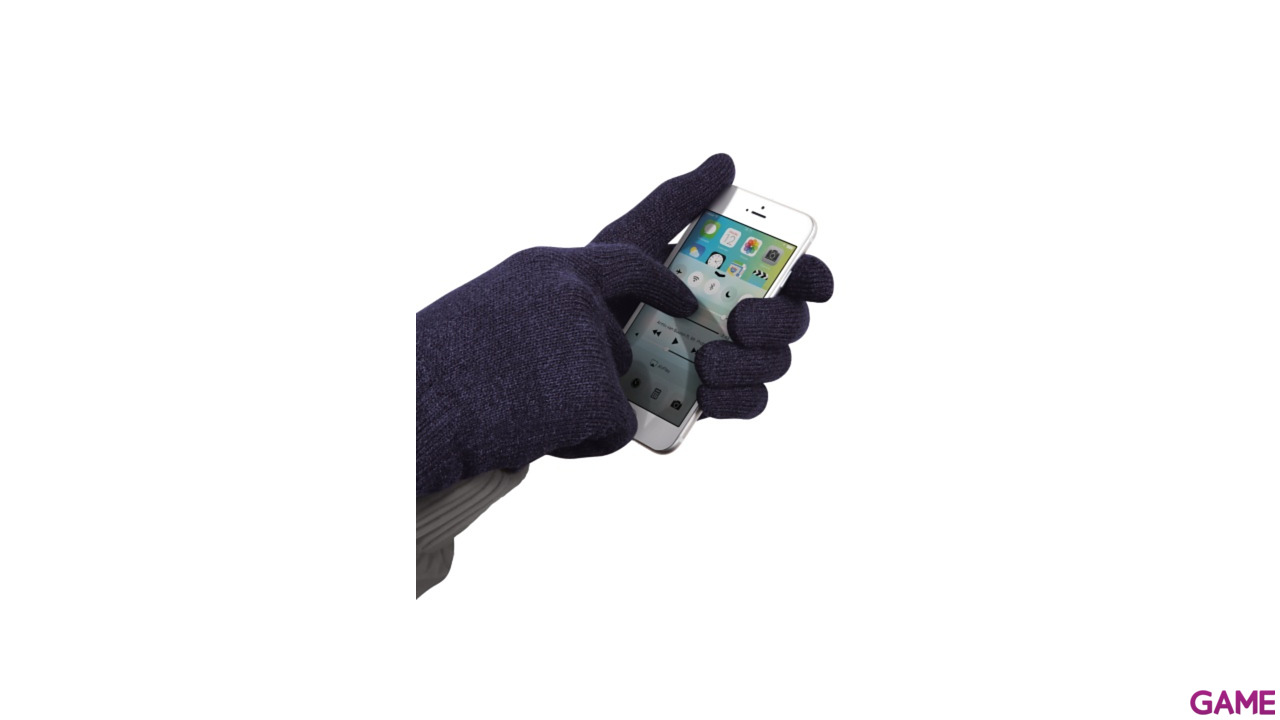 Guantes azules Trust Sensus TouchScreen talla S/M