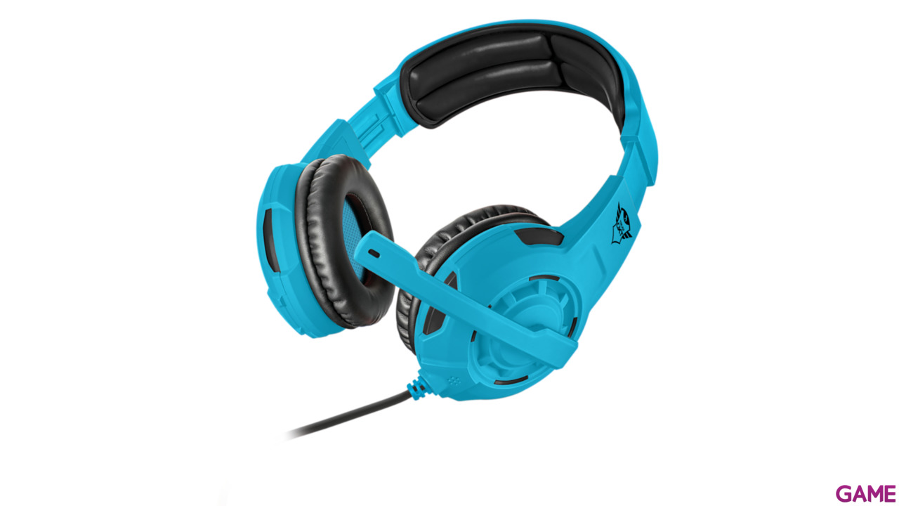 Auriculares Trust GXT310-SB Spectra Blue PS4-XONE-NSW-PC - Auriculares Gaming