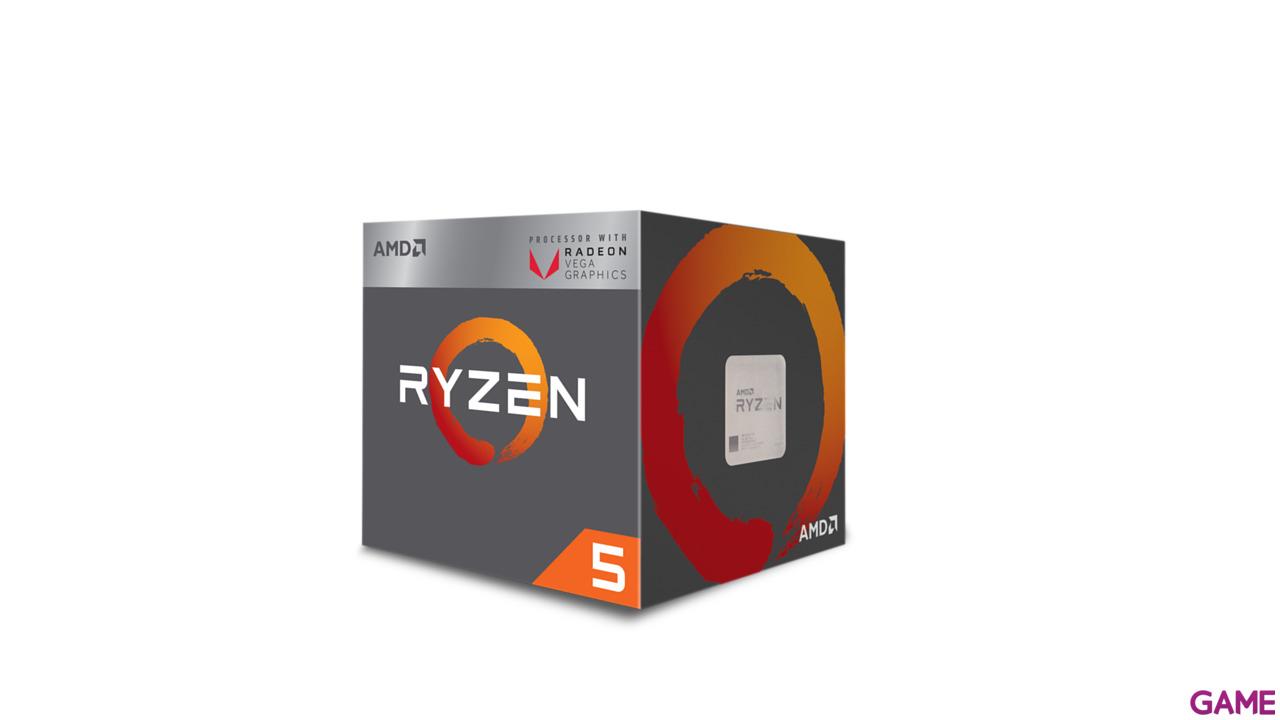 AMD Ryzen 5 2400G 3.6Ghz 4-Core AM4