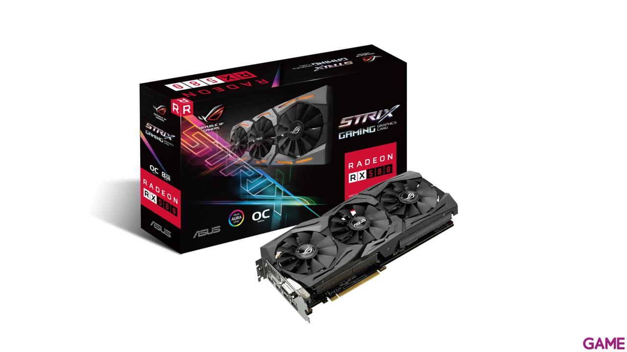 Asus Radeon RX580 OC Strix 8 GB