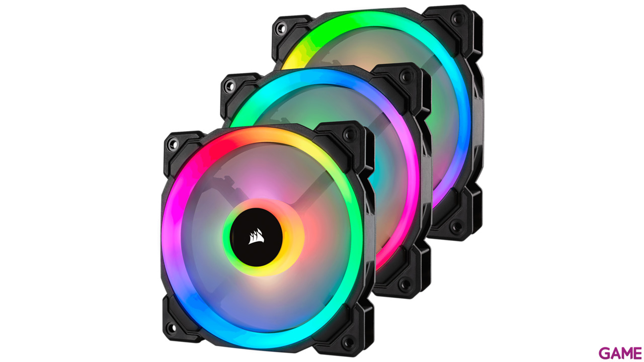 Corsair LL120 RGB Triple Pack - Ventilador 120mm