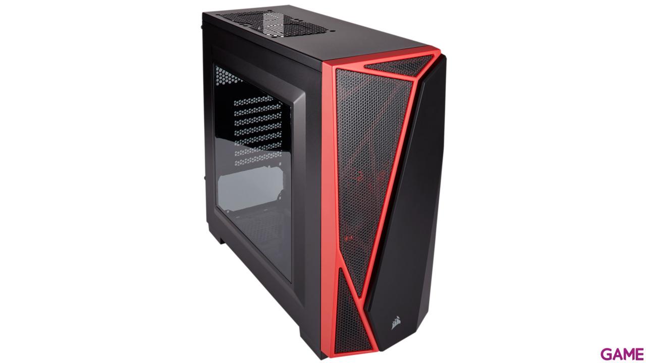 Corsair SPEC-04 Roja/Negra - Ventana