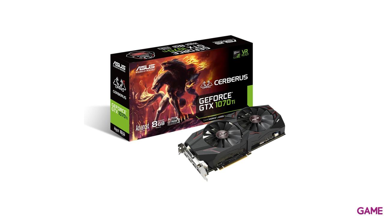 Asus Cerberus GeForce GTX 1070 Ti 8GB