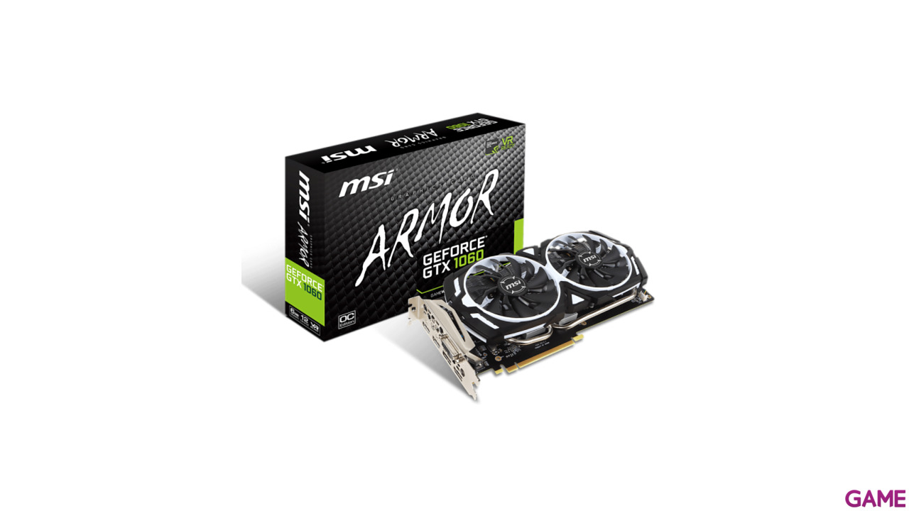 MSI GeForce GTX 1060 Armor V1 6GB